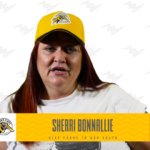 Photo of Sherri Bonnallie. She is a WAWG Hamilton Tiger-Cats Hero 2018