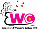 Logo of the Empowered Women's Culture. This is also a link to their facebook page.