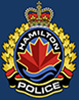 Logo of the Hamilton Police Services. The logo is also a link to their website.