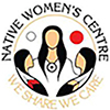 Logo of the Native Women's Centre in Hamilton. The logo is also a link, that when clicked on takes the user to the organization's web site.