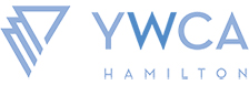 Logo for the YWCA Hamilton organization. It is also a link that when clicked on takes the user to the YWCA Hamilton's web site.